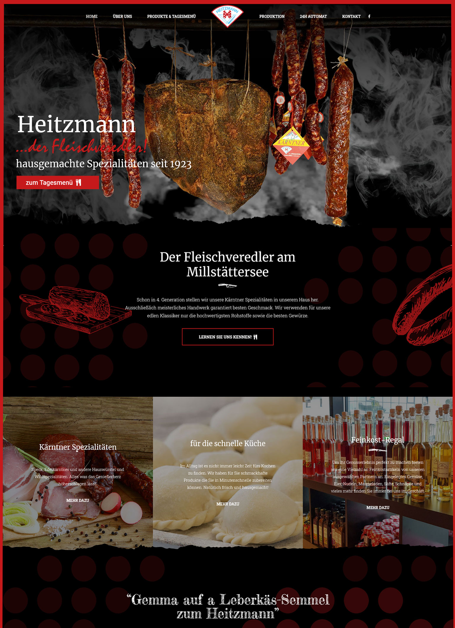 Heitzmann – der Fleischveredler